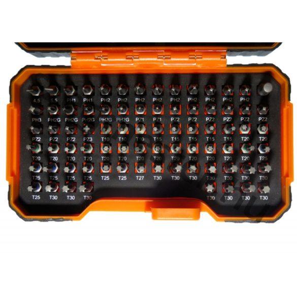 BAHCO bitkészlet 100 részes, színes, 25mm (59/S100BC)