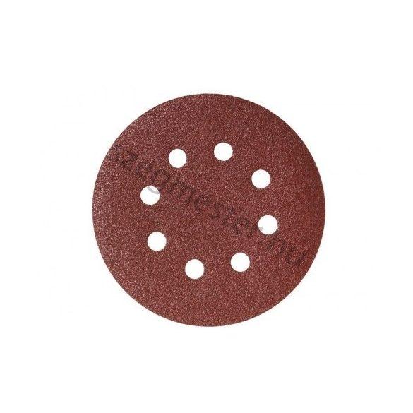 Tépőzáras csiszolópapír 8 lyukas 225mm A120