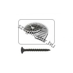 Tárazott gipszkarton csavar 3,5x45mm - fához (1000db)