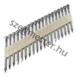 4,0x63mm pontralövő szeg 34° (2000 db) GYŰRŰS