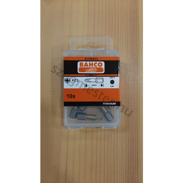 BAHCO Bitfej PZ2 (10 db) - TITÁN