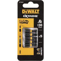 DeWalt bitfej TX30 torziós 25mm (5 db)