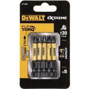 DeWalt bitfej TX30 torziós 50mm (5 db)