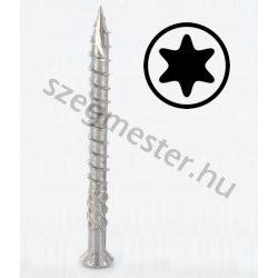 Teraszcsavar 5,0 x 40 mm rozsdamentes (A2), TX25