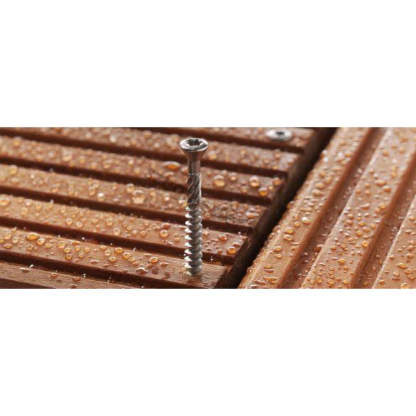 Teraszcsavar 5,0 x 50 mm rozsdamentes (A2), TX25