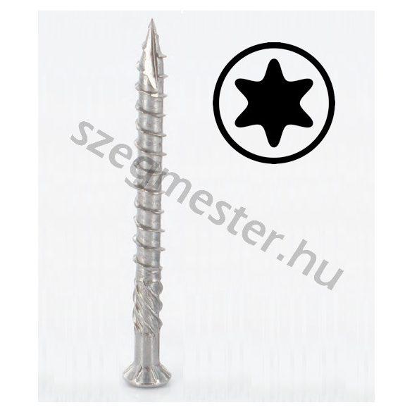Teraszcsavar 5,0 x 60 mm rozsdamentes (A2), TX25